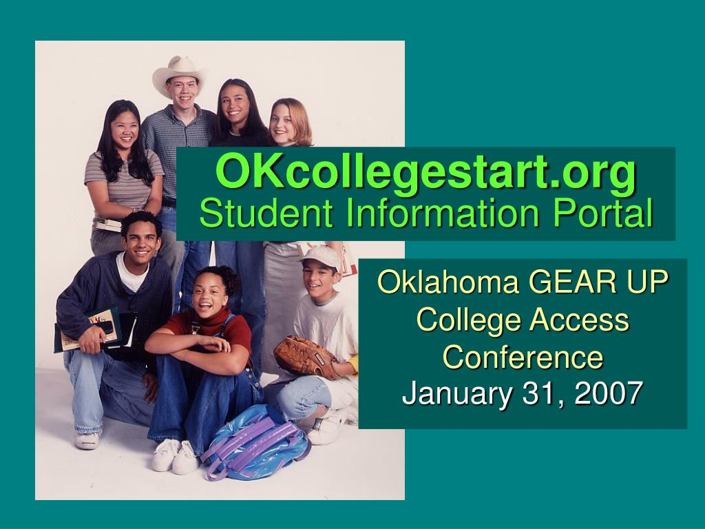 okcollegestart org student information portal l.