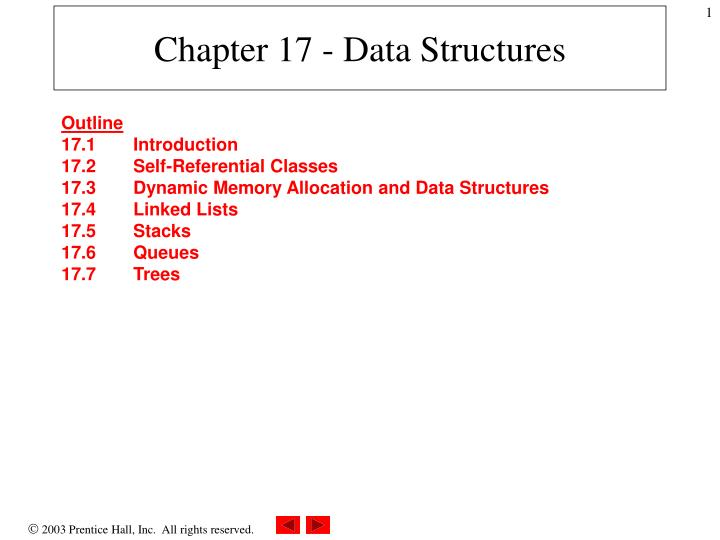 chapter 17 data structures n.