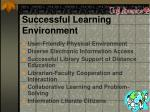 successful learning environment