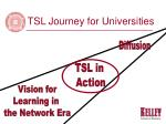tsl journey for universities