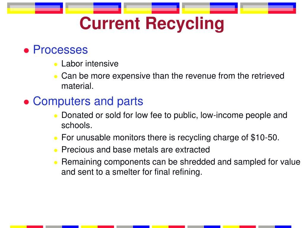 Current Recycling