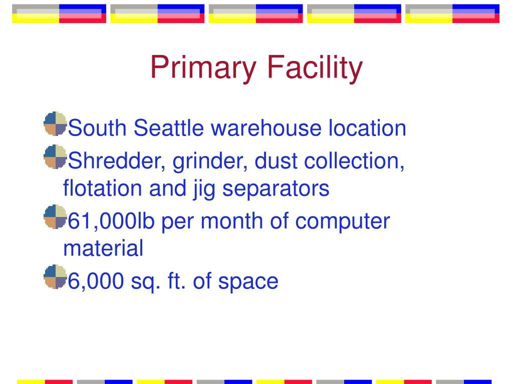 Primary Facility