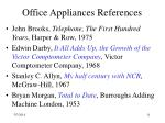 office appliances references11