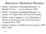 references mechanical monsters14