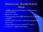 bifascicular bundle branch block