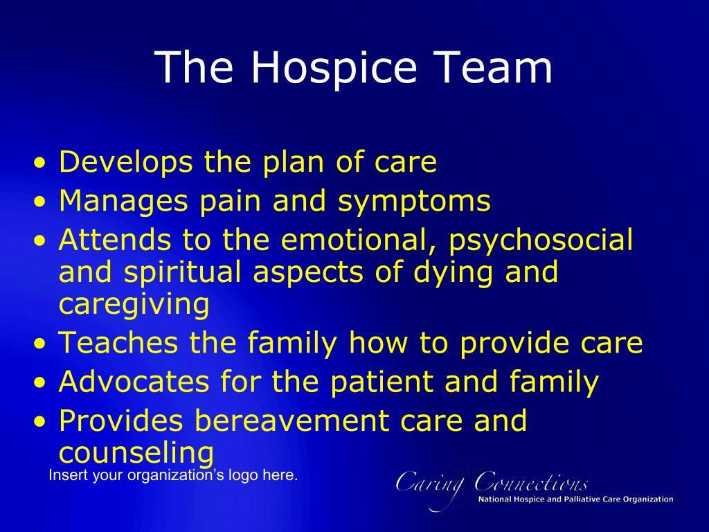 The Hospice Team