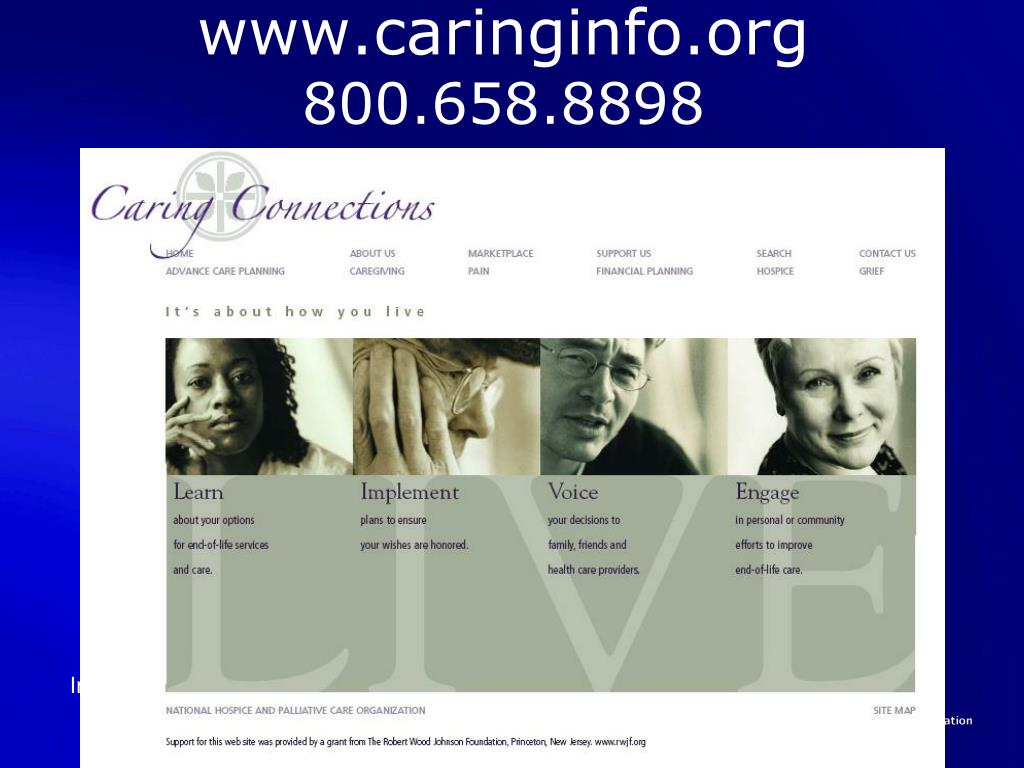 www.caringinfo.org
