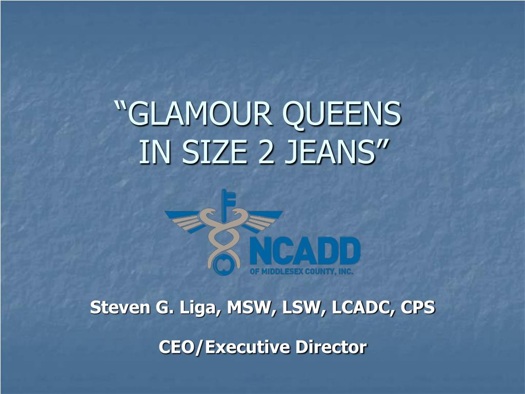 glamour queens in size 2 jeans l.