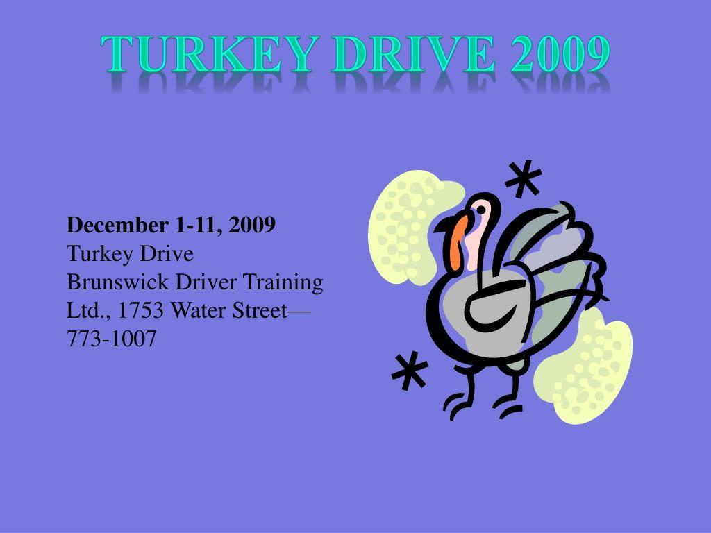 Turkey Drive 2009