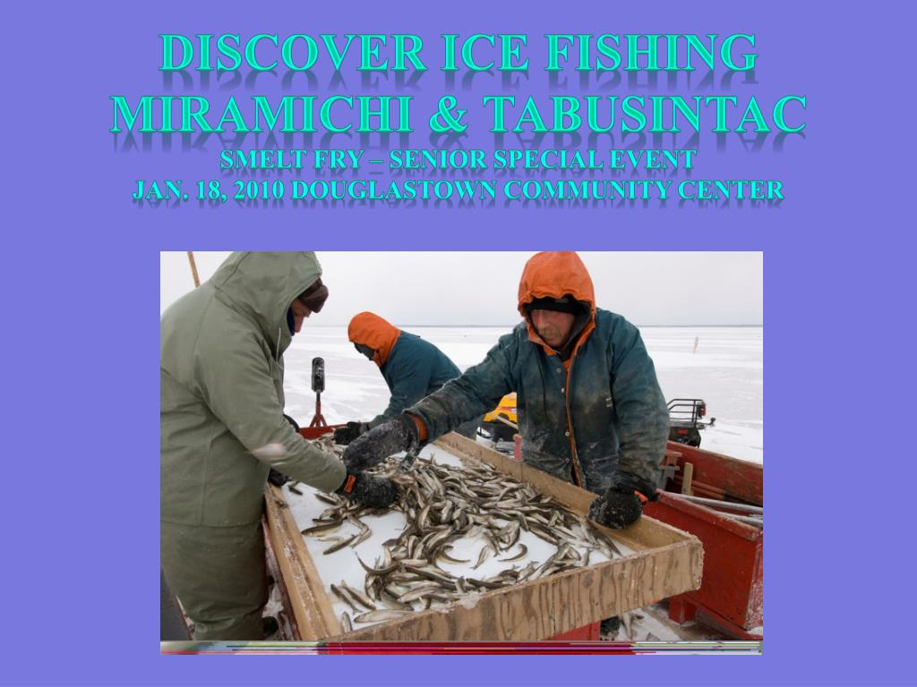 Discover ice fishing