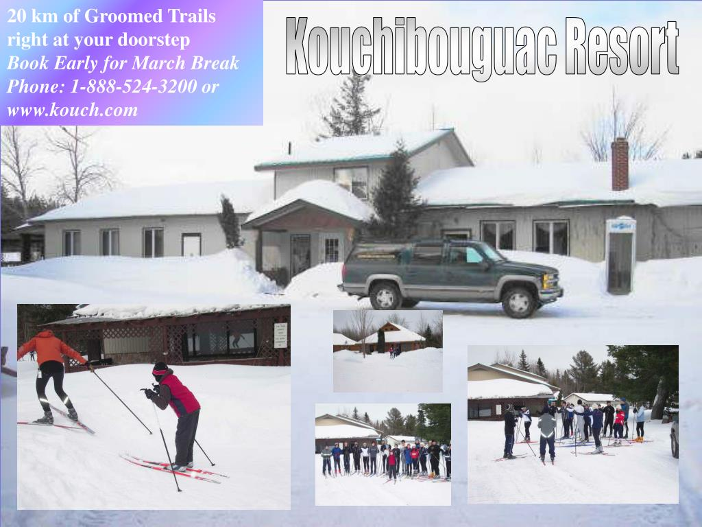 20 km of Groomed Trails right at your doorstep