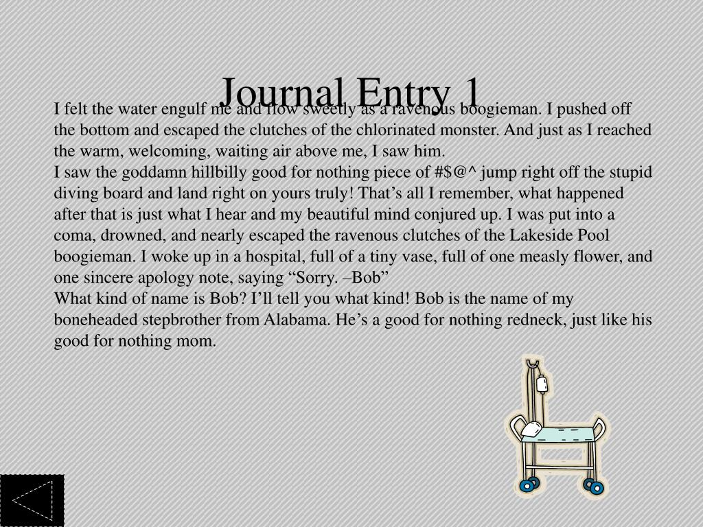 Journal Entry 1
