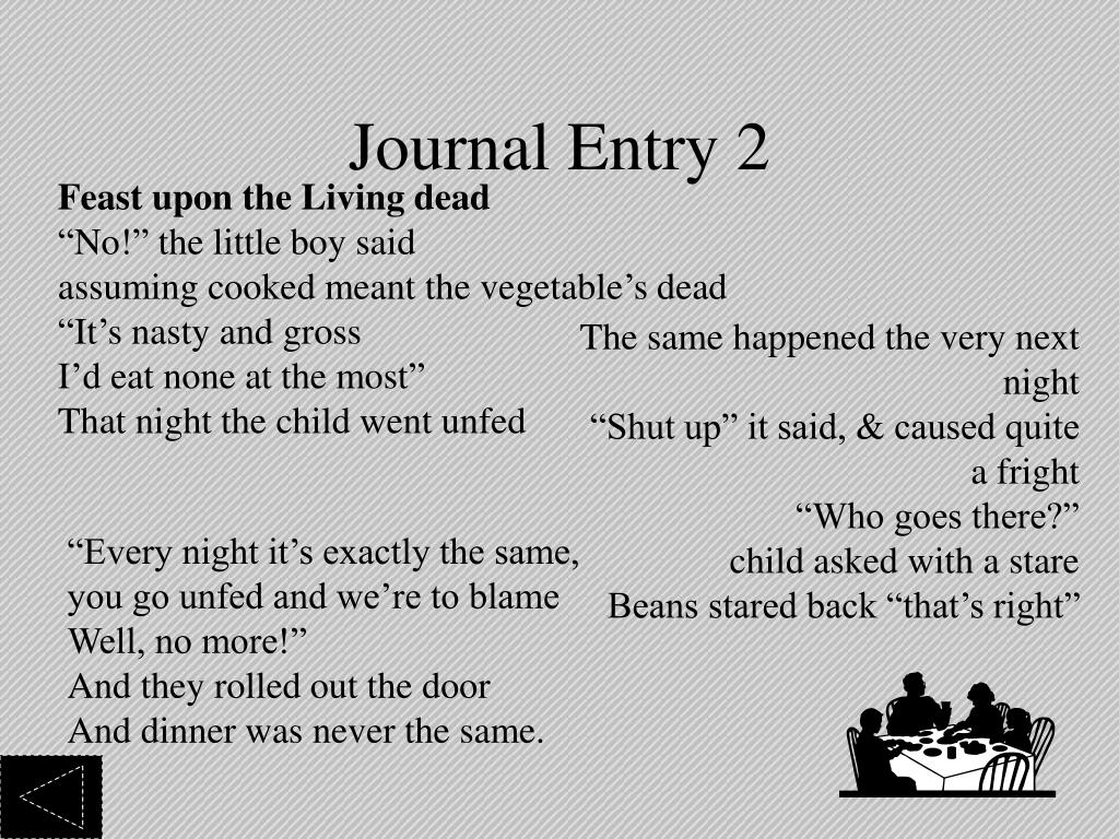 Journal Entry 2