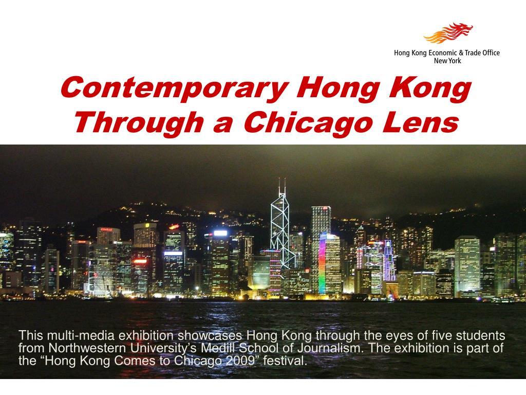 contemporary hong kong through a chicago lens l.