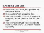 shopping list site12