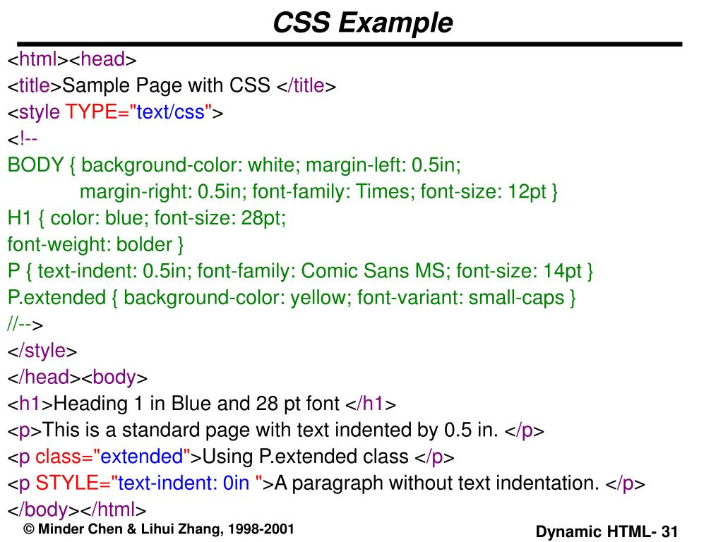 PPT - Dynamic HTML PowerPoint Presentation - ID:480497