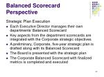 balanced scorecard perspective63