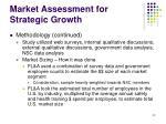 market assessment for strategic growth22