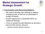 market assessment for strategic growth35