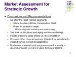 market assessment for strategic growth36