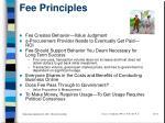 fee principles