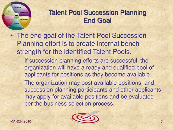 goal succession