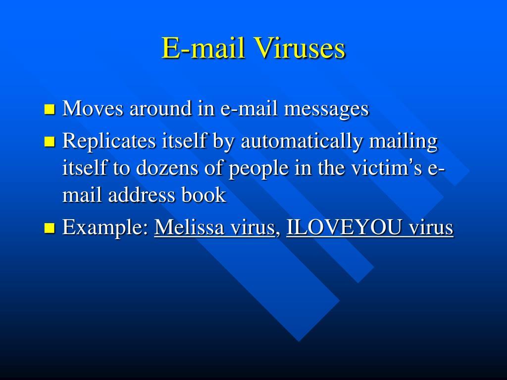E-mail Viruses