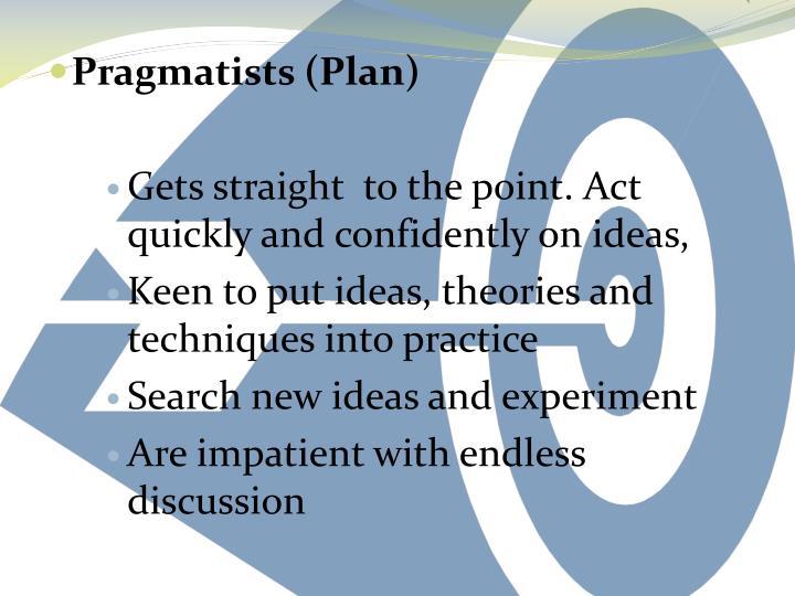 Pragmatists (Plan)