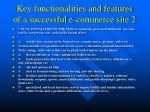 key functionalities and features of a successful e commerce site 2