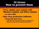 pc viruses how to prevent them29