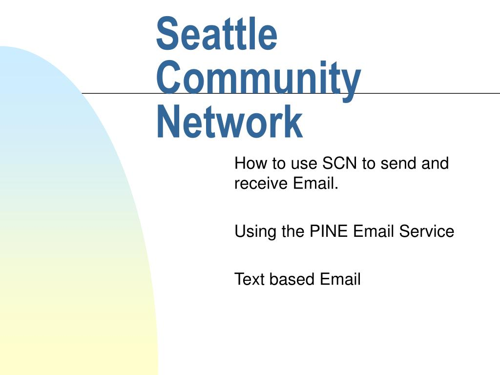 seattle community network l.