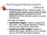 multi pronged protection systems continued