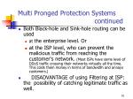 multi pronged protection systems continued91