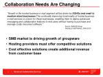 collaboration needs are changing