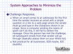 system approaches to minimize the problem16