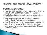 physical and motor development15