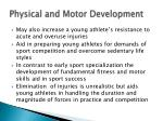 physical and motor development16