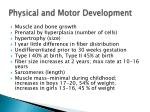 physical and motor development4