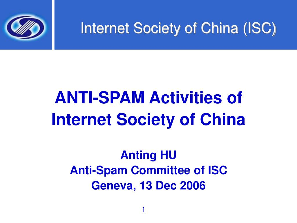 internet society of china isc l.