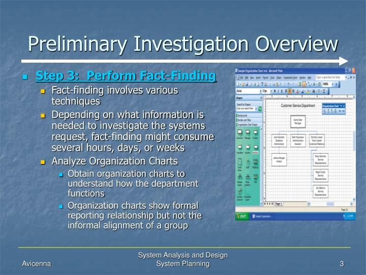 Ppt System Planning Preliminary Investigation Overview Powerpoint Presentation Id 481536