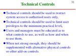 technical controls