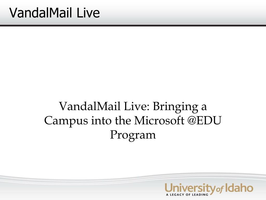 vandalmail live l.