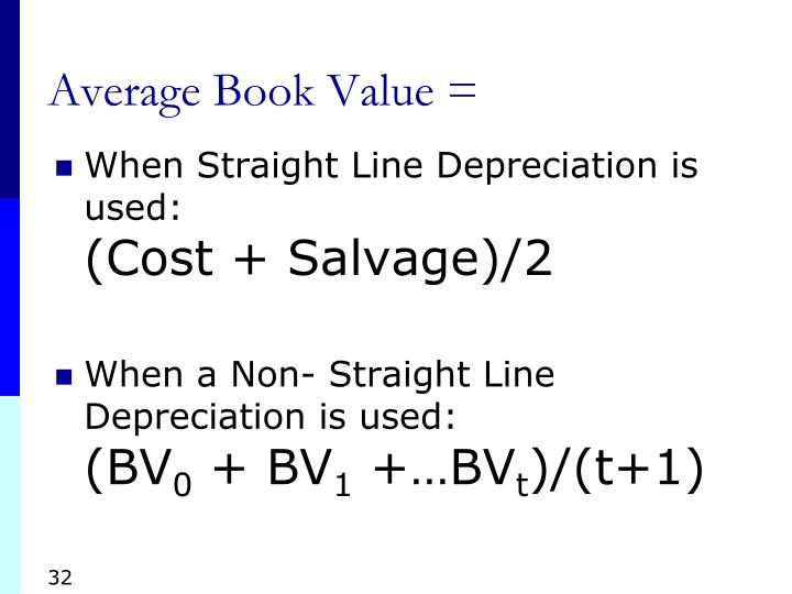 Average Book Value =