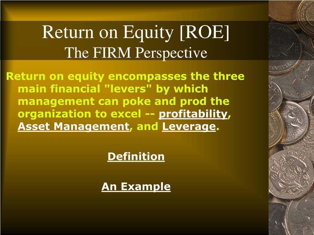 Return on Equity [ROE]