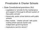 privatization charter schools