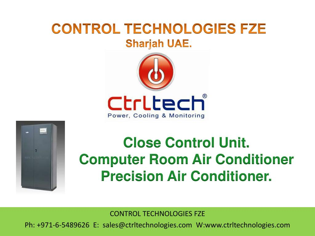 PPT - Close Control unit  CCU  CRAC  Precision Air Conditioner