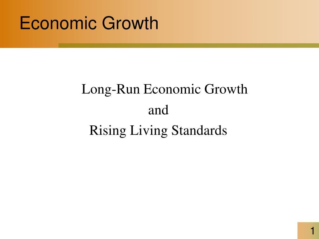 economic growth l.