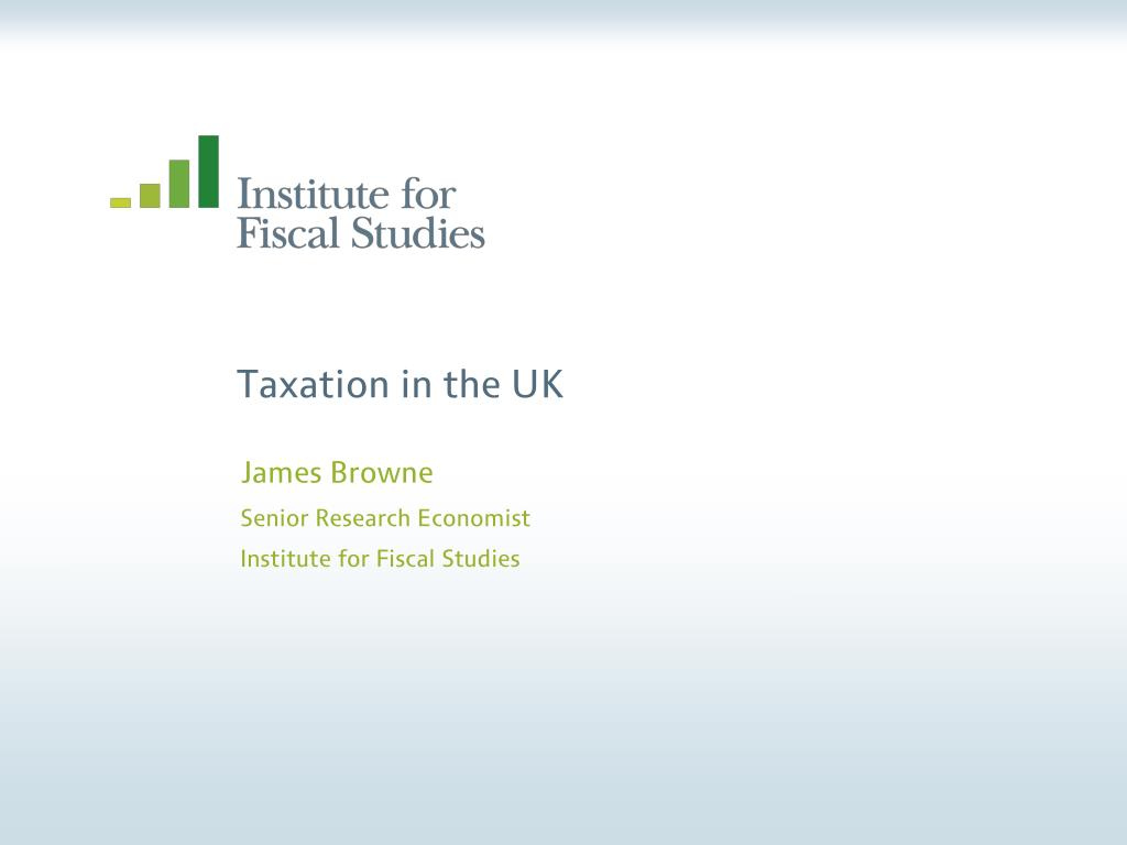 taxation in the uk l.