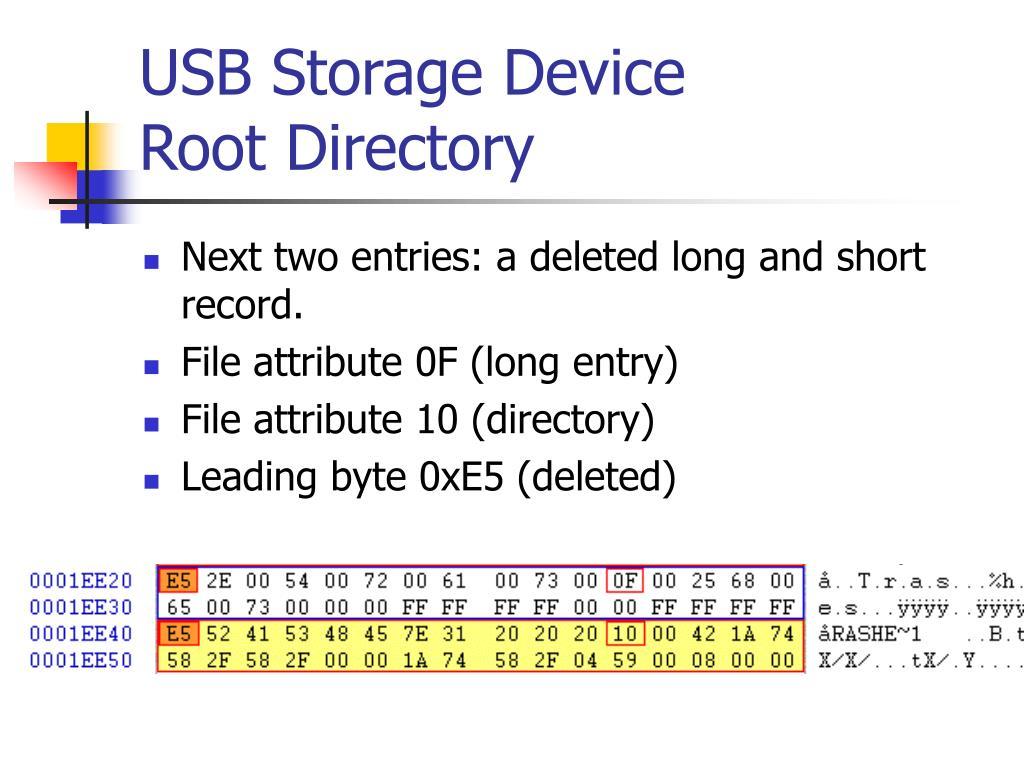 USB Storage Device