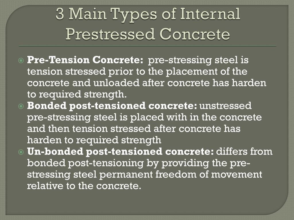 PPT - Pre-stressed Concrete PowerPoint Presentation - ID:481882